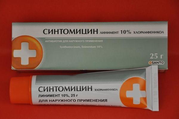 Как пользоваться синтомициновой мазью