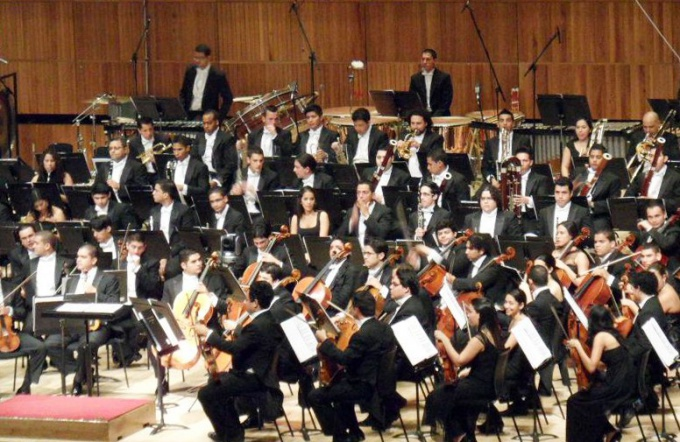 Какие музыкальные инструменты есть в симфоническом оркестре