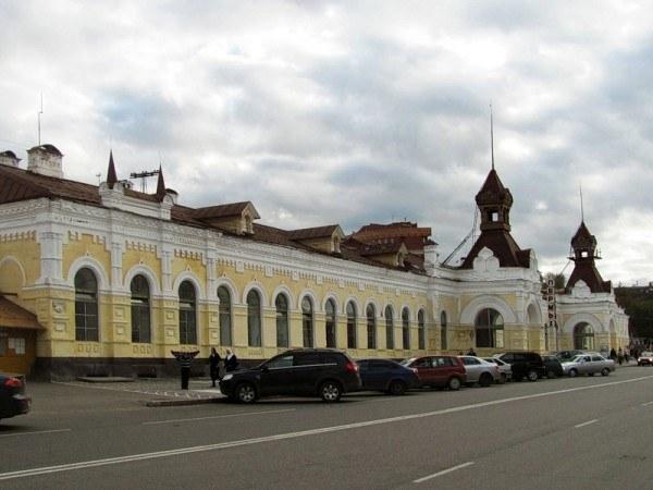Пермь, железнодорожный вокзал