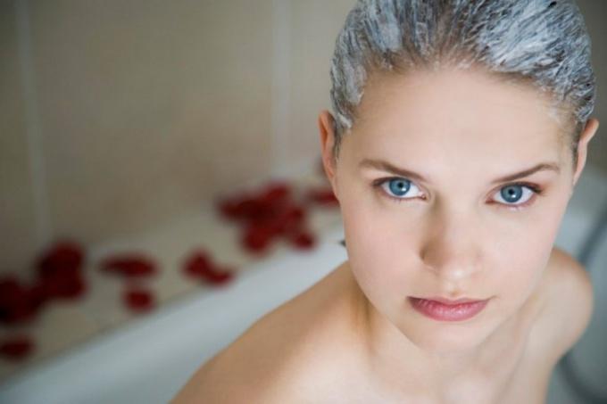 Как сделать кефирную маску для волос
