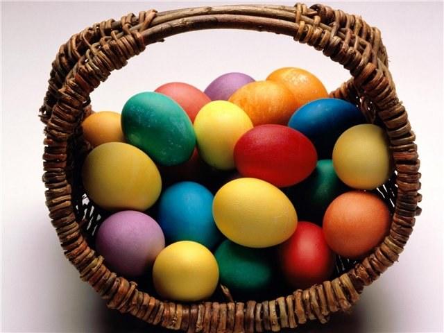 Как использовать пищевые красители для яиц