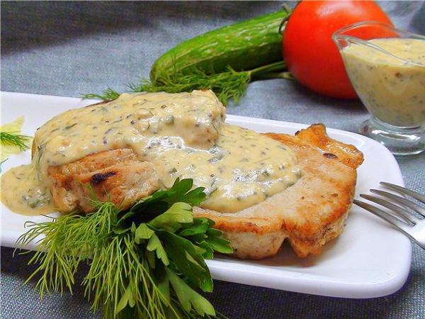 Как приготовить вкусный соус для свинины