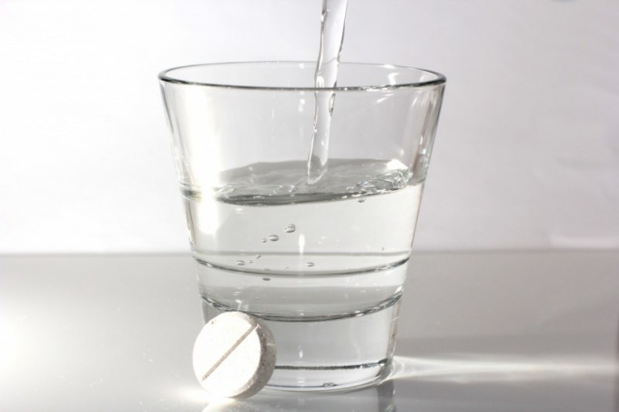 How to take aspirin at a temperature of