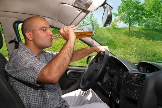 When getting behind the wheel after drinking alcohol