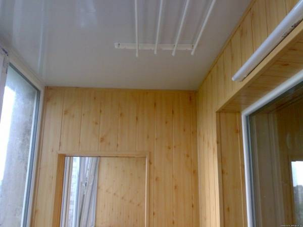 Обшивка балкона мдф видео.