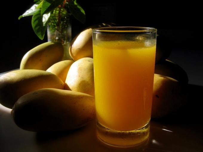 Как приготовить сок из манго