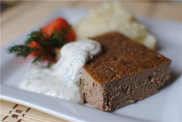 Как приготовить суфле из печени