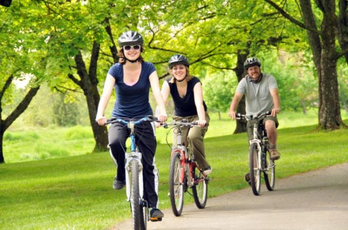 Велопрогулки для похудения
