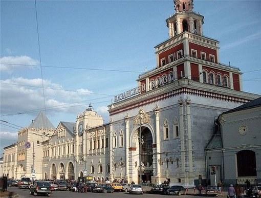 How to get to the Kazan railway station