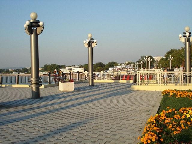 Anapa's Embankment