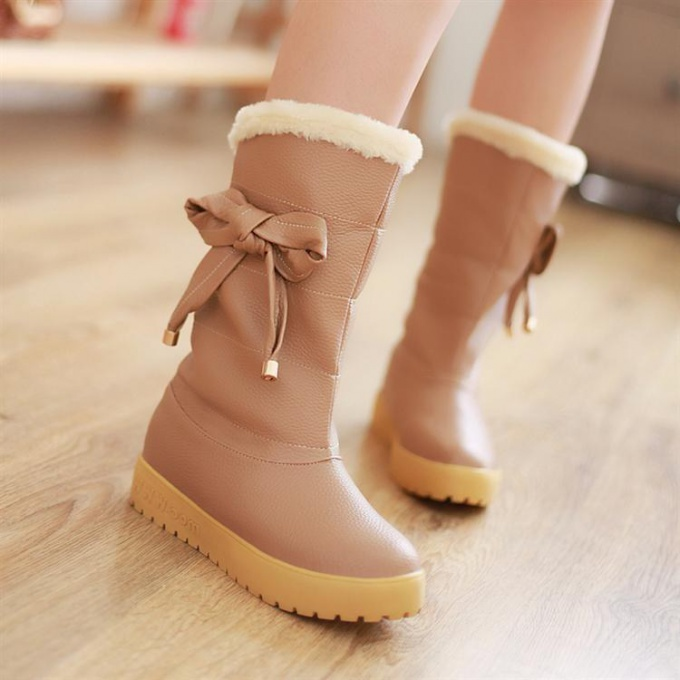 Как выбрать обувь на морозы
