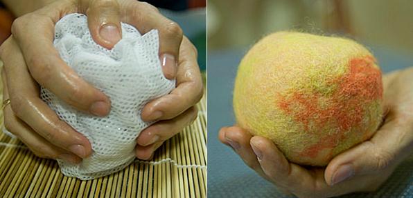 Как сделать шкатулку из шерсти