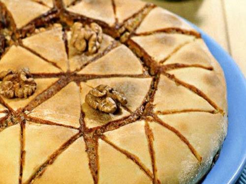 Как приготовить греческий ореховый пирог