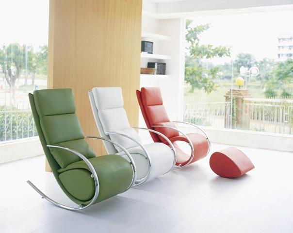 кресло-качалка в интерьере фото