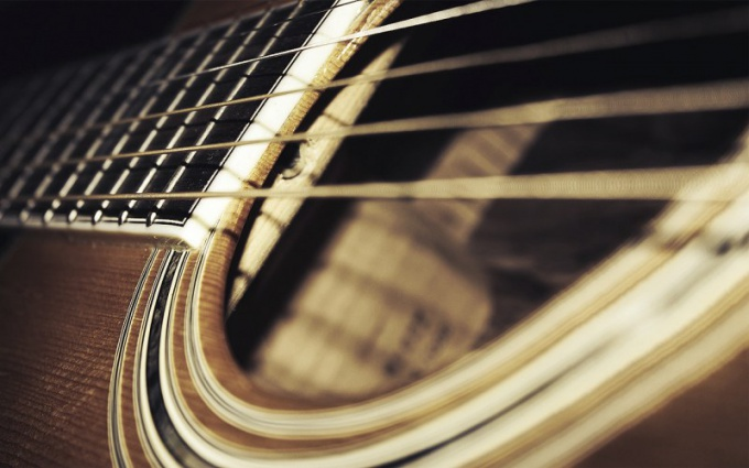 Гитары бывают акустическими и электрическими