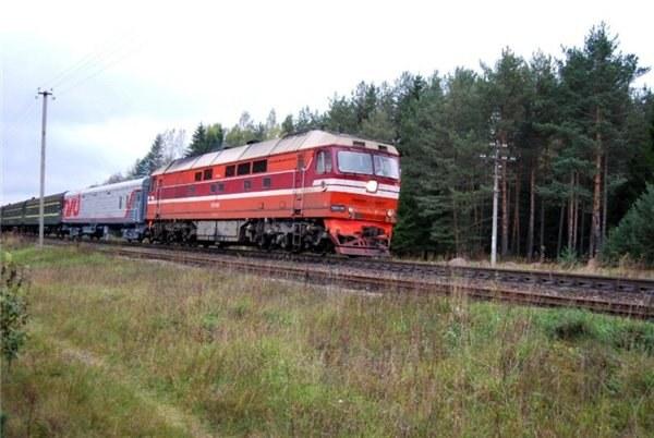 Поезд Москва - Псков