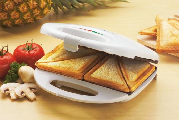 Как готовить в сэндвичнице