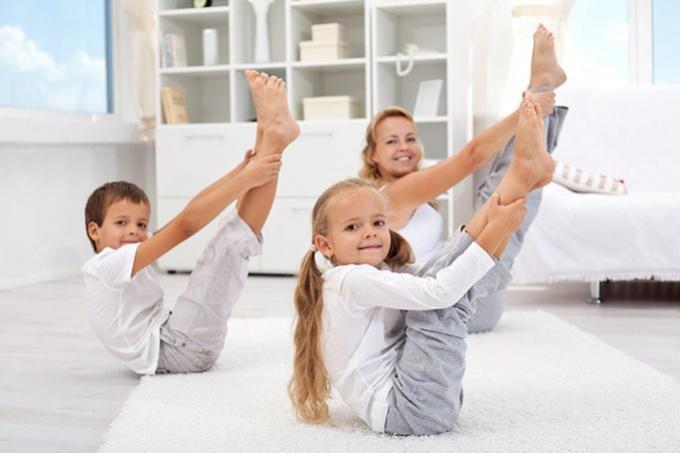 Какие физические упражнения подойдут для мальчика пяти лет