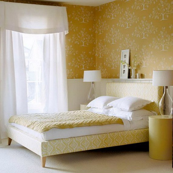 What curtains would suit the yellow Wallpaper