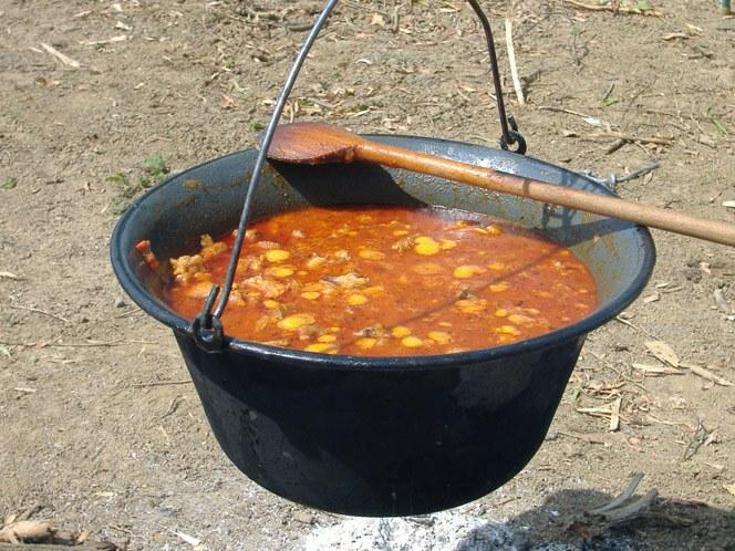 Блюда на костре: что приготовить