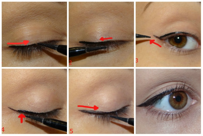 "How to draw ""dior"" arrows"