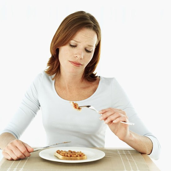 A symptom of some diseases may be loss of appetite?