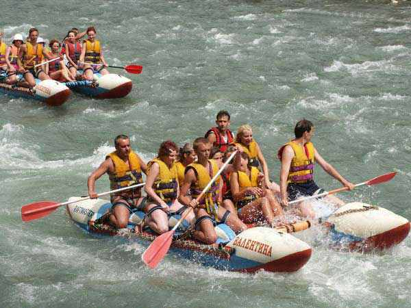 Как отправиться в сплав по рекам