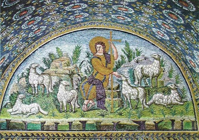 Как появилась мозаика