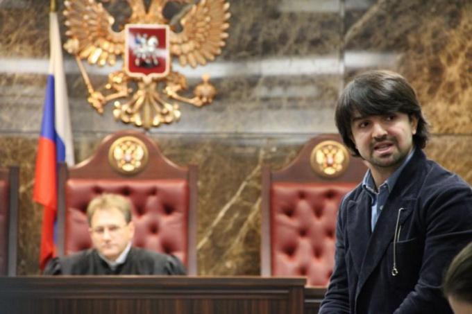 Выступление защитника в зале суда