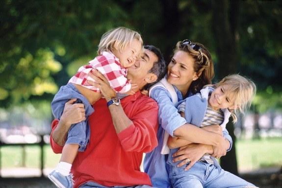 Семья - залог базового доверия к миру