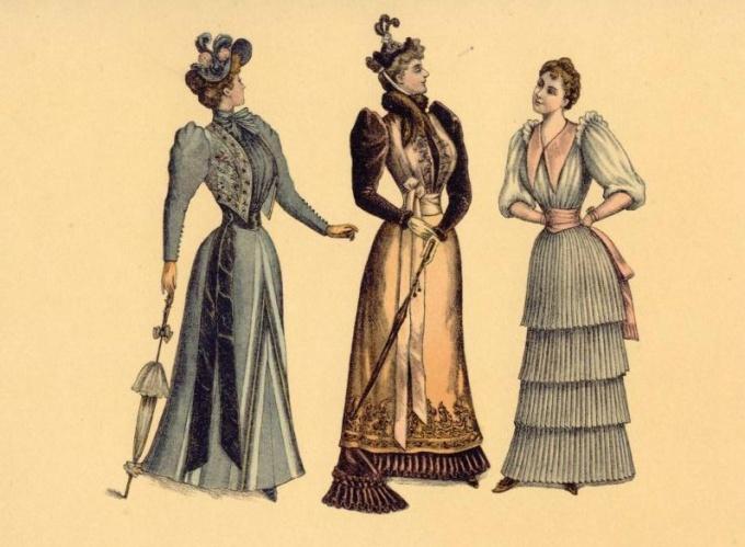 «Мода 19-го столетия. 1890-й год».