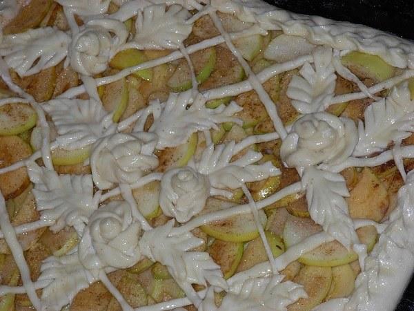 Как украсить открытый пирог