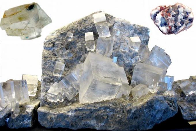 Минерал галит - источник поваренной соли
