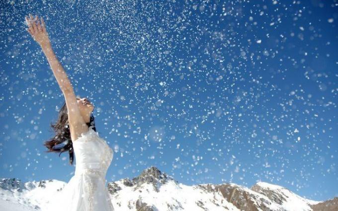 Что такое снег как природное явление