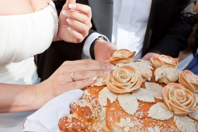 That symbolizes the bread at a wedding
