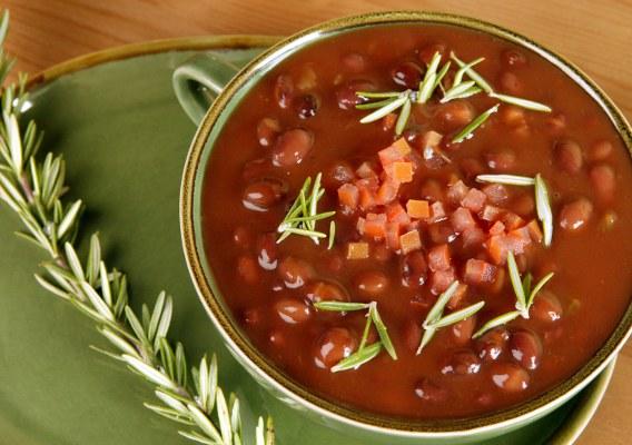 Как сделать низкокалорийным блюдо из красной фасоли