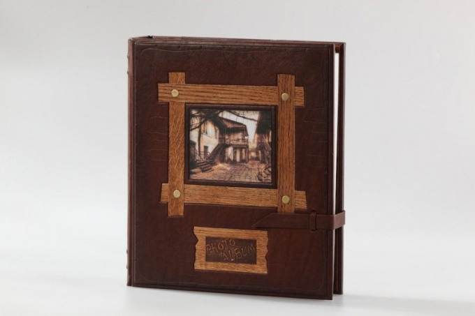 What is the magnetic photo album