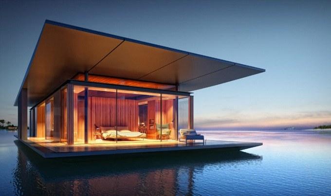 Что такое плавучий дом