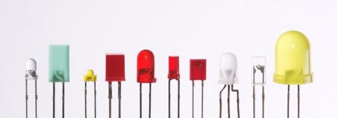 Светодиод как солнечная батарея