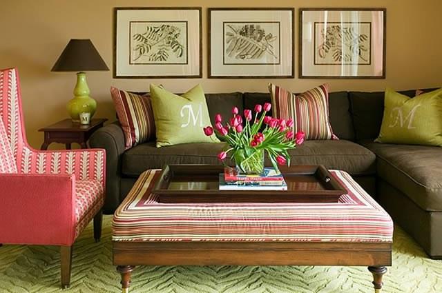 цветовое решение гостиной