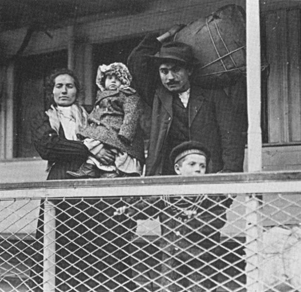 Американские иммигранты, начало ХХ века