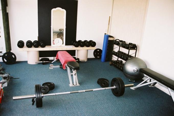 В домашнем спортзале должно быть все необходимое для занятий