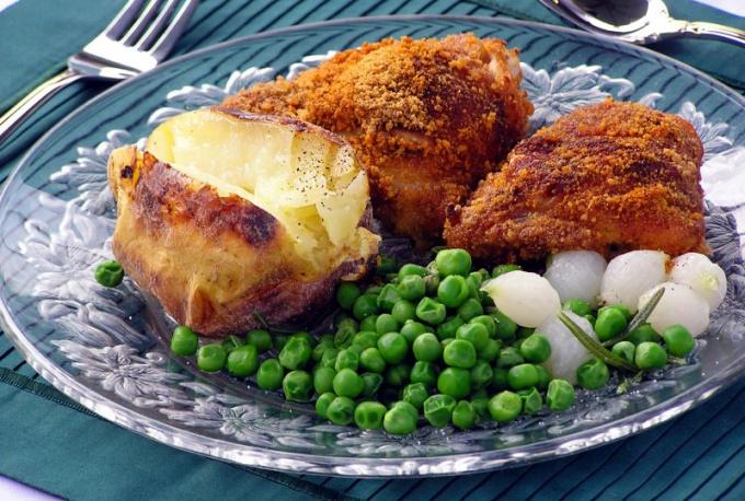 Курица с медом - оригинальное блюдо со сладко-пряным вкусом