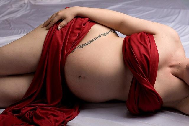 Беременность делает женщину прекрасной