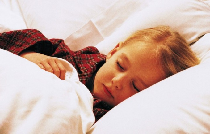 Sleep disturbance in a child: causes, methods of dealing