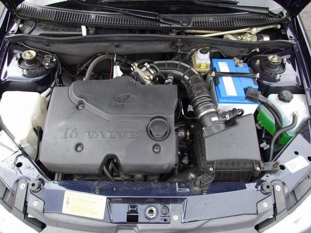 Лада Калина с 16-тиклапанным двигателем