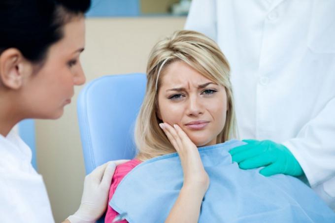Как выглядит зубной нерв