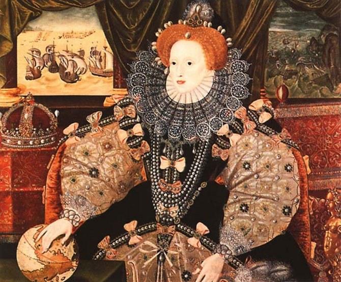 Елизавета I была поклонницей свинцовой пудры