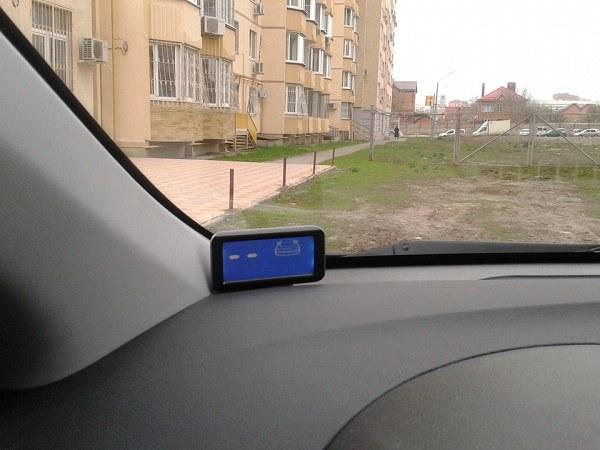 Дисплей парктроника