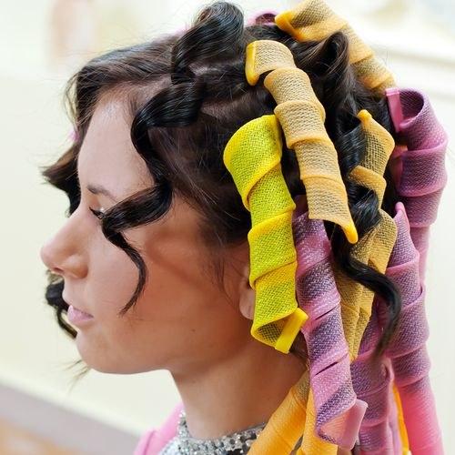 безопасные бигуди для волос